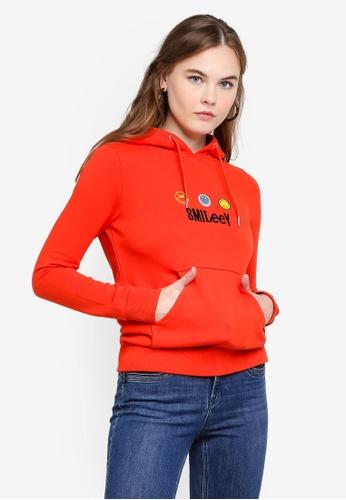 Lee red Smiley Sweatshirt 6855FAA17CDD4FGS_1