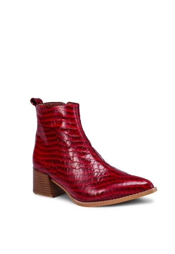 7cbef05bf6b23d Buy E8 by Miista Elin Croc Leather Boots Online on ZALORA Singapore