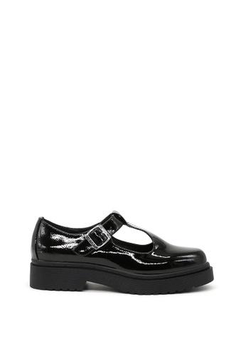 London Rag black Black Slip-on Buckle strap shoes C5C14SH2A338A5GS_1