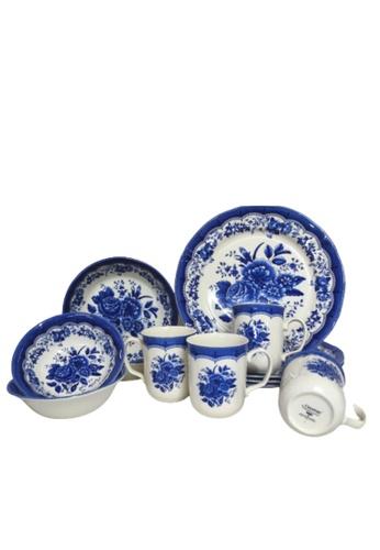 Claytan blue 403BS Victoria  16 PCS Dinner Set- (1st grade) F7D6AHL4F5F635GS_1