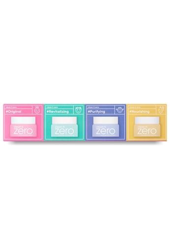 Banila Co. Clean it Zero Cleansing Balm Miniature Set (4Pcs) 91BE7BE763E4DAGS_1