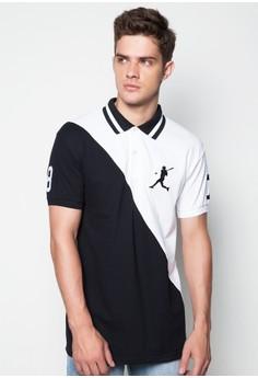 Baseball Inspired Polo Shirt