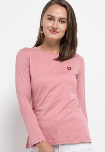 TRISET pink Clara Tops 9738CAAF40525DGS_1