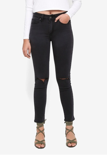 Factorie black The Mid-Rise Skinny Jeans 25715AAD78844DGS_1
