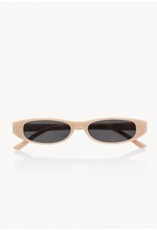 ba920c3efa Slim Oval Sunglasses - Cream F42D8GL02F3EECGS 1