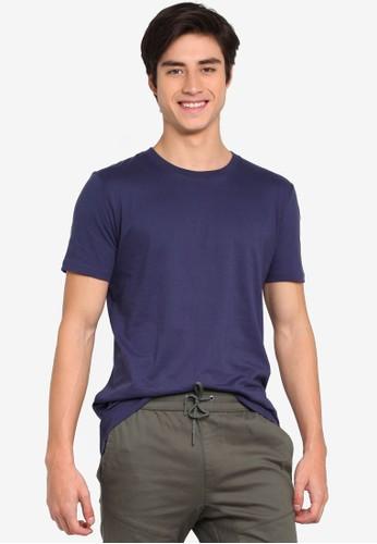 Factorie navy Slim T-Shirt 8E384AAE652B82GS_1