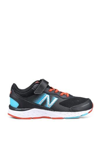 New Balance black Kids 680 V6 Performance Shoes 9563BKS6DB570EGS_1