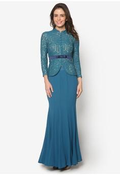 Baju Kebaya Lace with Bow Detail - Vercato Safira