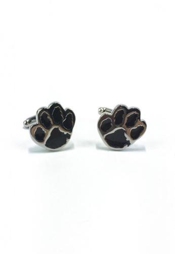Splice Cufflinks black Black Bear's Paw Cufflinks SP744AC58EYNSG_1