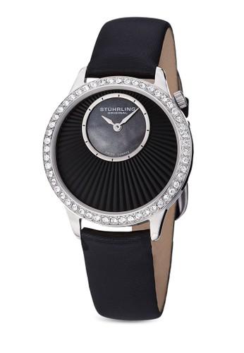 esprit home 台灣Radiant 閃鑽圓框手錶, 錶類, 時尚型