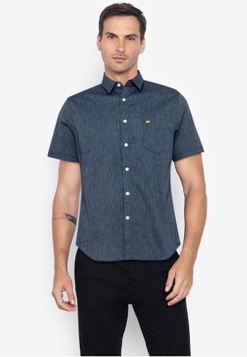 Jack Nicklaus navy Blue Label Mouton Short Sleeve Shirt BC3AEAA83910FDGS_1