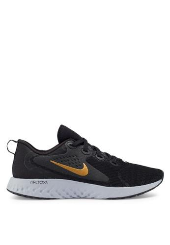Nike black Nike Legend React Shoes 01278SHD73053FGS_1