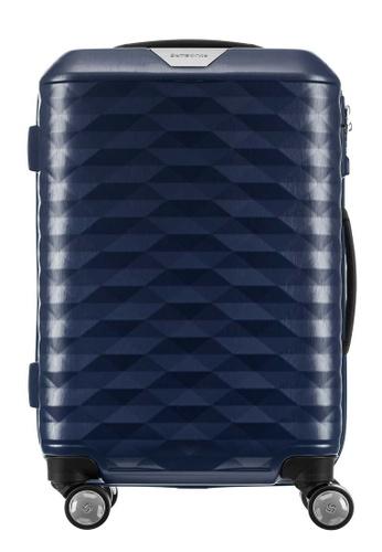 Samsonite blue Samsonite Polygon Spinner 55/20 Luggage 5AA7DAC3FF2D9DGS_1