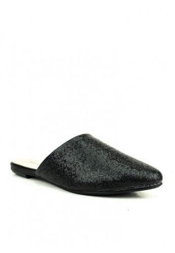 Mario D' boro Runway black Steffi Flat Shoes AFF06SH92EB0A4GS_1