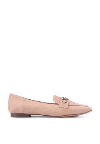 nose pink Buckled Loafers 832E3SH8C174B5GS_1