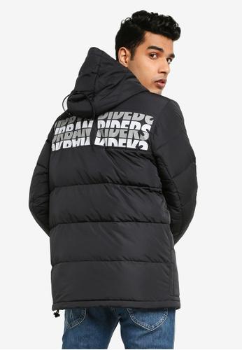 Lee black Casual Down Jacket 233E7AA0AA85D5GS_1