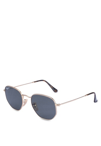 Ray-Ban green Ray-Ban Hexagonal Flat Lenses RB3548N Sunglasses C6D4AGLA73E2F9GS_1