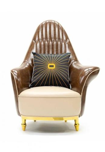 Choice Furniture brown Choice Furniture - Abramo Armchair 7CA43HL06E7FA1GS_1