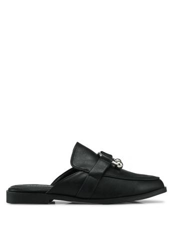Glamorous 黑色 休閒穆勒鞋 1D958SH94FBBEAGS_1