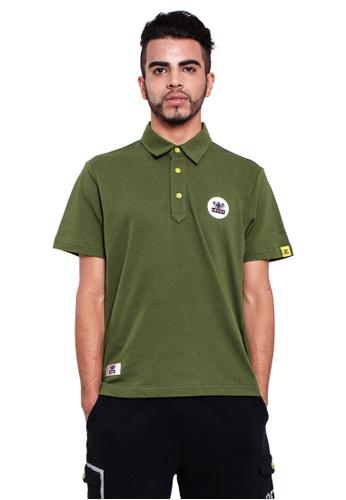 Reoparudo green RPD 331 Edition Polo Shirt (Army Green) RE413AA0GOOGSG_1