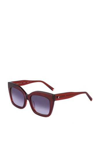 Kendall + Kylie red Keyla Sunglasses 1625CGL4F6011AGS_1