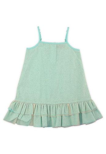 PERIWINKLE green Frixinette Shift Dress D1395KAA827579GS_1