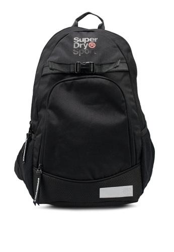 SUPERDRY black Sport Backpack CDB94AC0DC9E43GS_1