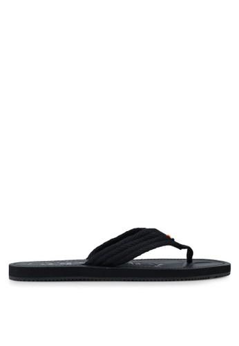 Superdry black Superdry Cove Sandal 7486ASH486A2ADGS_1