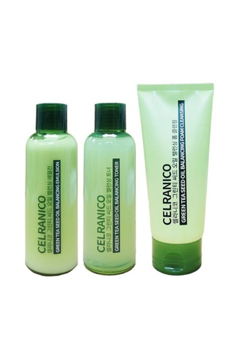 Celranico green Celranico Green Tea Seed Oil Balance Set (Special Set) C0FC9BE9285298GS_1