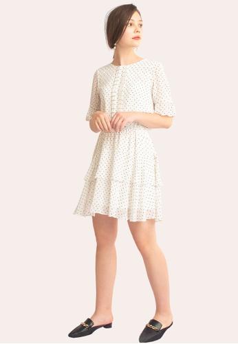 L'zzie white LZZIE WILLA DRESS - WHITE CB1A1AA63AA636GS_1