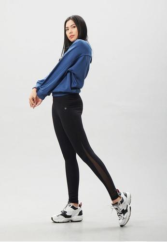 AVIVA 黑色 AVIVA 高腰收腹瘦腿显瘦运动长裤 4E01DAAF8A3499GS_1