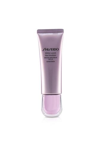 Shiseido SHISEIDO - White Lucent Day Emulsion Broad Spectrum SPF 23 Sunscreen 50ml/1.7oz FAF30BE288C9BAGS_1