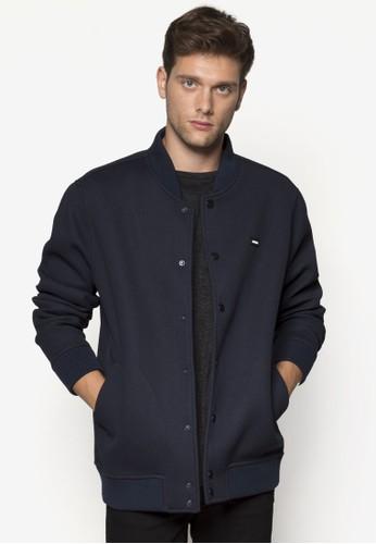 Nelson 鈕扣長zalora 包包評價袖外套, 服飾, 輕薄外套