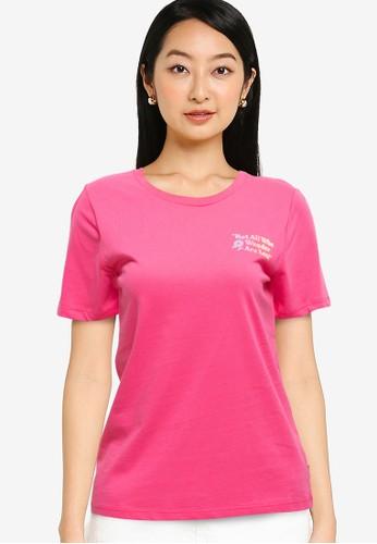 Converse pink Exploration Team Classic Tee 18E4BAACB1503BGS_1