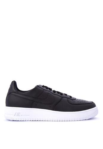 Nike black Men's Nike Air Force 1 Ultra Force Leather Shoes NI126SH0KPRMPH_1