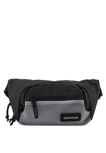 CRUMPLER black Stash Belt Bag 4A525AC8AEBEC1GS_1