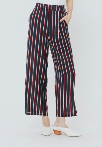 H:CONNECT multi Fashionable Striped Pants CA009AAEC6FB91GS_1