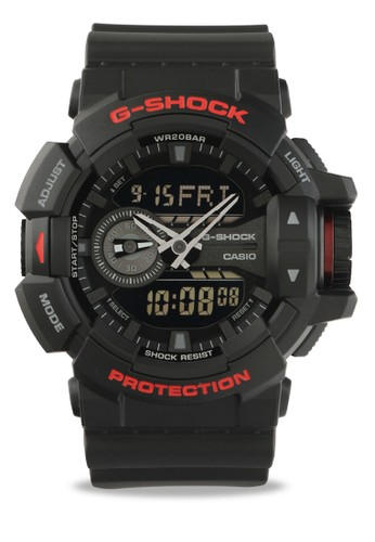 G-shock black and red G-shock Male GA-400HR-1ADR Black Red 0C38BACE9AFA7EGS_1