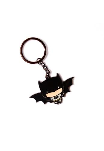 DC Comics Batman Enamel Keychain 23E63HL0F77A9FGS_1