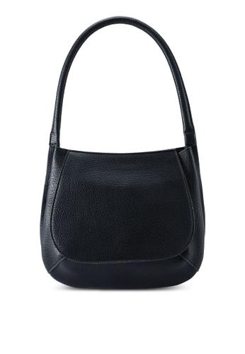 Red's Revenge black Margot Structured Hobo Shoulder Bag 936BFACA895D0BGS_1