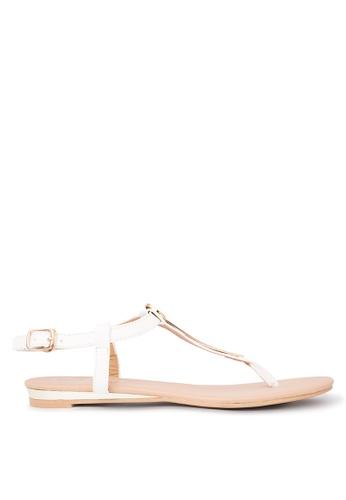 d8471af466731 Shop So Fab! Barra Flats Sandals Online on ZALORA Philippines