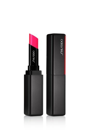 Shiseido pink Shiseido Makeup VisionAiry Gel Lipstick,213 Neon Buzz A9593BEAF8B44AGS_1