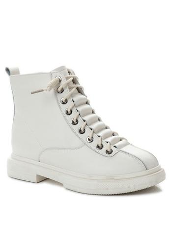 Twenty Eight Shoes Vintage Leather Mid Boot CB7120 89622SHC74FCD4GS_1