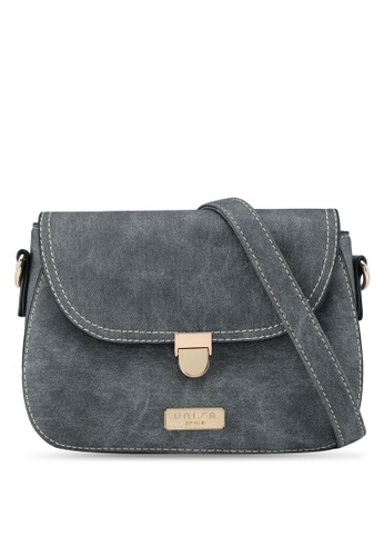 b6faf299d1da Buy Unisa Jeans Effect 2-Way Usage Sling Bag Online on ZALORA Singapore