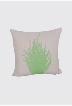 Bunch of Leaves Print B Throw Pillow Case