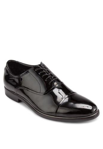 Gavilzalora 折扣碼le 漆皮布洛克鞋, 鞋, 鞋