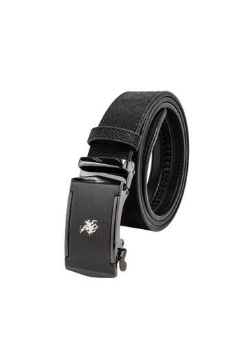 Swiss Polo black 40mm Automatic Belt 1EAD4ACA2633ABGS_1
