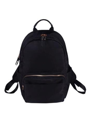 Twenty Eight Shoes black Smart causal Backpack RP24 388F5AC5AA00C7GS_1