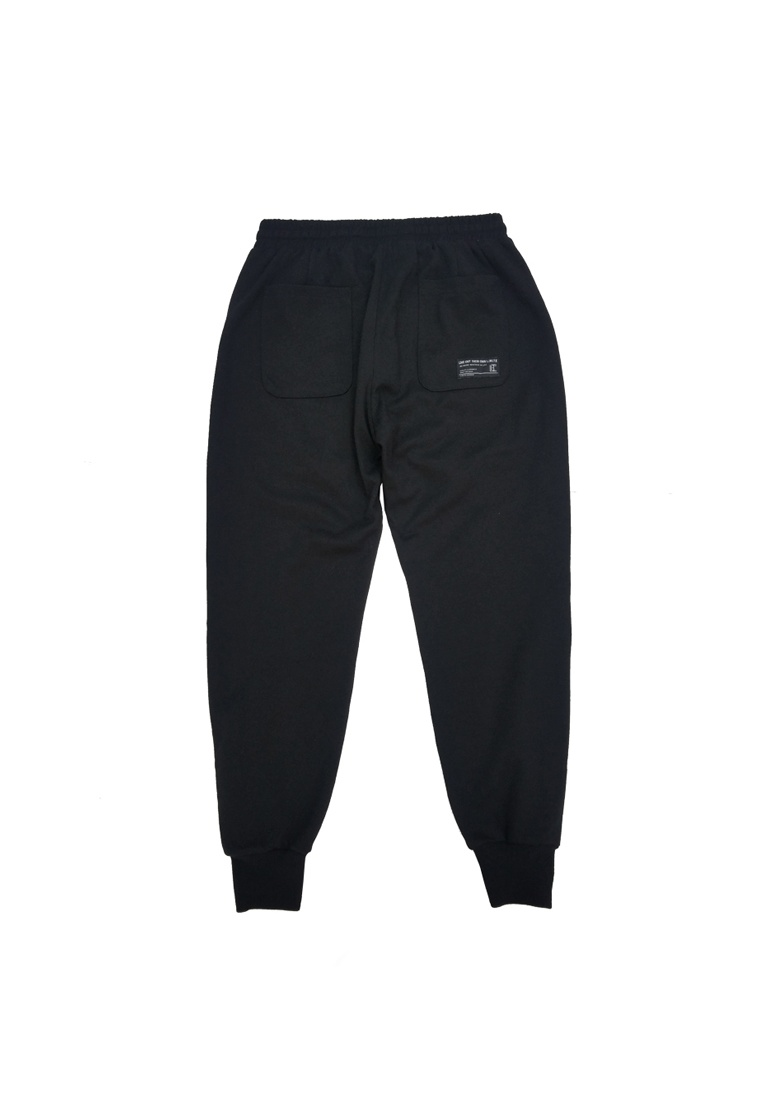 L fabric E I Sweat with I Pants M Black Printed 3M Trim T OqSwOY