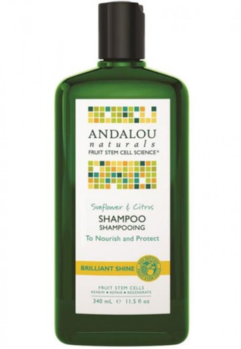 Andalou Naturals Sunflower & Citrus Brilliant Shine Shampoo AN136BE47OYISG_1
